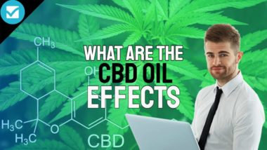 """Featured image with the text: """"What are the CBD Oil Effects""""."""