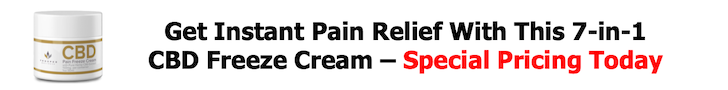 Instant pain relief CBD offer